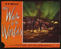 """Movie Posters:Science Fiction, The War of the Worlds (Paramount, 1953). Trimmed Lobby Card (10"""" X13""""). Science Fiction.. ..."""