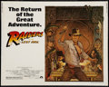 "Movie Posters:Adventure, Raiders of the Lost Ark (Paramount, R-1982). Half Sheet (22"" X28""). Adventure.. ..."