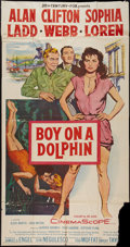 "Movie Posters:Adventure, Boy on a Dolphin (20th Century Fox, 1957). Three Sheet (41"" X 81"").Adventure.. ..."