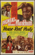 """Movie Posters:Black Films, House Rent Party (Toddy Pictures, 1946). One Sheet (26.5"""" X40.75""""). Black Films.. ..."""