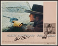"""Movie Posters:Action, Clint Eastwood Lot (Various, 1960s-1980s). Autographed Lobby Card& Lobby Cards (4) (11"""" X 14""""). Action.. ... (Total: 5 Items)"""