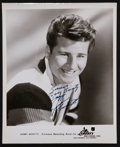 """Movie Posters:Rock and Roll, Johnny Burnette (1960). Autographed Portrait Photo (8"""" X 10""""). Rock and Roll.. ..."""