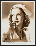 """Movie Posters:Mystery, Ann Sheridan in Mystery House (Warner Brothers, 1938). PortraitPhoto (8"""" X 10""""). Mystery.. ..."""