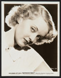 "Movie Posters:Crime, Bette Davis in The Petrified Forest (Warner Brothers, 1936).Portrait Photo (8"" X 10""). Crime.. ..."