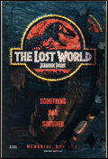 """Movie Posters:Horror, Jurassic Park II: The Lost World (Universal, 1997). Lenticular 3-DOne Sheet (27"""" X 40""""). Advance. Horror.. ..."""