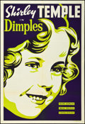 """Movie Posters:Musical, Dimples (20th Century Fox, 1936). Leader Press One Sheet (28"""" X 41""""). Musical.. ..."""