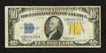 Small Size:World War II Emergency Notes, Fr. 2309 $10 1934A North Africa Silver Certificate. Fine-Very Fine.. ...
