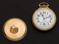 Timepieces:Pocket (post 1900), Illinois 23 Jewel Bunn Special With Rare Dial Pocket Watch. ...