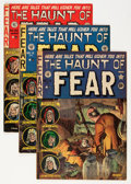 Golden Age (1938-1955):Horror, Haunt of Fear Group (EC, 1952-53) Condition: Average VG/FN....(Total: 4 Comic Books)