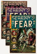 Golden Age (1938-1955):Horror, Haunt of Fear Group (EC, 1954).... (Total: 4 Comic Books)
