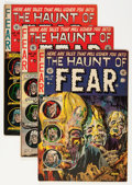 Golden Age (1938-1955):Horror, Haunt of Fear #13, 15, and 17 Group (EC, 1952-53).... (Total: 3Comic Books)