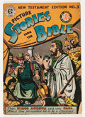 Golden Age (1938-1955):Religious, Picture Stories from the Bible - New Testament Edition #3 (EC,1946) Condition: VG-....