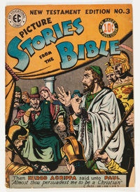 Picture Stories from the Bible - New Testament Edition #3 (EC, 1946) Condition: VG-
