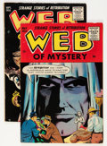 Golden Age (1938-1955):Horror, Web of Mystery #28 and 29 Group (Ace, 1955).... (Total: 2 ComicBooks)