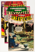 Silver Age (1956-1969):Horror, Tales of the Unexpected Group (DC, 1957-58).... (Total: 4 ComicBooks)