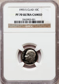 Proof Roosevelt Dimes: , 1993-S 10C Clad PR70 Ultra Cameo NGC. NGC Census: (219). PCGSPopulation (220). Numismedia Wsl. Price for problem free NGC...