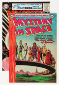 Golden Age (1938-1955):Science Fiction, Mystery in Space #17 and 34 Group (DC, 1953-56).... (Total: 2 ComicBooks)