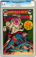 Bronze Age (1970-1979):Superhero, World's Finest Comics #202 (DC, 1971) CGC NM 9.4 Off-white to white pages....