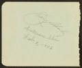 Boxing Collectibles:Autographs, Jack Sharkey Signed Album Page....