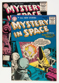 Golden Age (1938-1955):Science Fiction, Mystery in Space #26 and 31 Group (DC, 1955-56).... (Total: 2 ComicBooks)