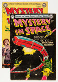 Golden Age (1938-1955):Science Fiction, Mystery in Space #19 and 20 Group (DC, 1954) Condition: AverageFN.... (Total: 2 Comic Books)