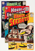 Silver Age (1956-1969):Mystery, House of Secrets Group (DC, 1958-60).... (Total: 5 Comic Books)