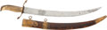 Edged Weapons:Other Edged Weapons, Impressive Circa 1820 Large Lion Head Pommel Naval Officer's Dirk....