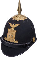 Militaria:Helmets, New York State National Guard Enlisted Dress Helmet....