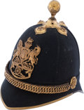 Militaria:Helmets, British Royal Artillery Regiment Officers' 1878 Pattern HomeService Helmet....