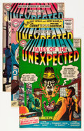 Silver Age (1956-1969):Horror, Tales of the Unexpected Group (DC, 1956-57).... (Total: 4 ComicBooks)