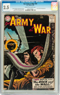 Silver Age (1956-1969):War, Our Army at War #83 (DC, 1959) CGC GD+ 2.5 Cream to off-white pages....