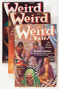 Pulps:Horror, Weird Tales Group (Popular Fiction, 1937).... (Total: 5 ComicBooks)