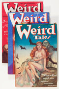 Pulps:Horror, Weird Tales Group (Popular Fiction, 1938) Condition: AverageVG+.... (Total: 7 Items)