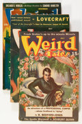 Pulps:Horror, Weird Tales Group (Popular Fiction, 1939-47) Condition: Average VG-.... (Total: 8 Items)