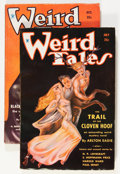 Pulps:Horror, Weird Tales Group (Popular Fiction, 1934).... (Total: 2 Items)