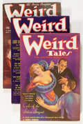 Pulps:Horror, Weird Tales Group (Popular Fiction, 1936) Condition: AverageVG/FN.... (Total: 3 Items)