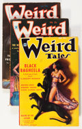 Pulps:Horror, Weird Tales Group (Popular Fiction, 1935) Condition: Average VG.... (Total: 4 Comic Books)