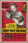 "Movie Posters:Crime, Baby Face Nelson (United Artists, 1957). One Sheet (27"" X 41"").Crime.. ..."