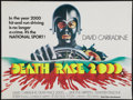 "Movie Posters:Science Fiction, Death Race 2000 (New World, 1975). British Quad (30"" X 40"").Science Fiction.. ..."