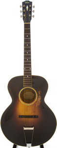 Musical Instruments:Acoustic Guitars, 1933 Gibson L-4 Archtop Acoustic Guitar, Serial # 91299....
