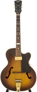 Musical Instruments:Electric Guitars, 1950s Vega Odell Sunburst Archtop Electric Guitar, Serial #8433....