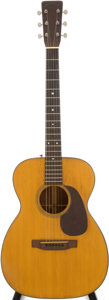 Musical Instruments:Acoustic Guitars, 1952 Martin 00-18 Natural Acoustic Guitar, Serial # 126029....