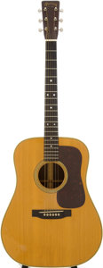 Musical Instruments:Acoustic Guitars, 1952 Martin D-28 Natural Acoustic Guitar, Serial # 125485....