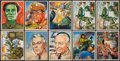 Non-Sport Cards:Sets, 1951 Bowman Red Menace Collection (42). ...