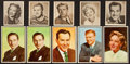 "Non-Sport Cards:Sets, 1948 Bowman ""Movie Stars"" and 1952 Bowman ""T.V. & Radio Starsof NBC"" Collection (62). ..."