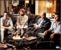 "Boxing Collectibles:Autographs, Mike Tyson ""We All Do Stupid **** When We're ***** Up"" Signed The Hangover Oversized Photograph...."