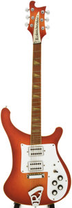 Musical Instruments:Electric Guitars, 1976 Rickenbacker 481 Fireglo Solid Body electric Guitar, Serial #PC2243....