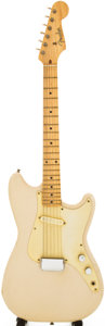 Musical Instruments:Electric Guitars, 1956 Fender Musicmaster Desert Sand Solid Body Electric Guitar,Serial # 16422. ...