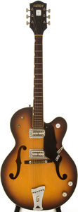 Musical Instruments:Electric Guitars, 1968 Gretsch Double Anniversary Sunburst Semi-Hollow Body ElectricGuitar, Serial # 48212....