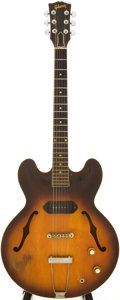 Musical Instruments:Electric Guitars, 1962 Gibson ES-330 Sunburst Semi-Hollow Body Electric Guitar,Serial # 47354....